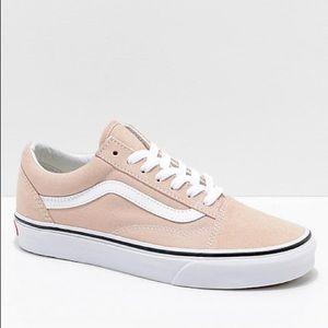 Vans Old Skool Nude Pink Suede Sneakers